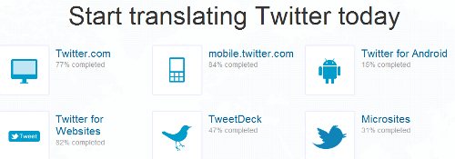 Translate Twitter - Start Translating