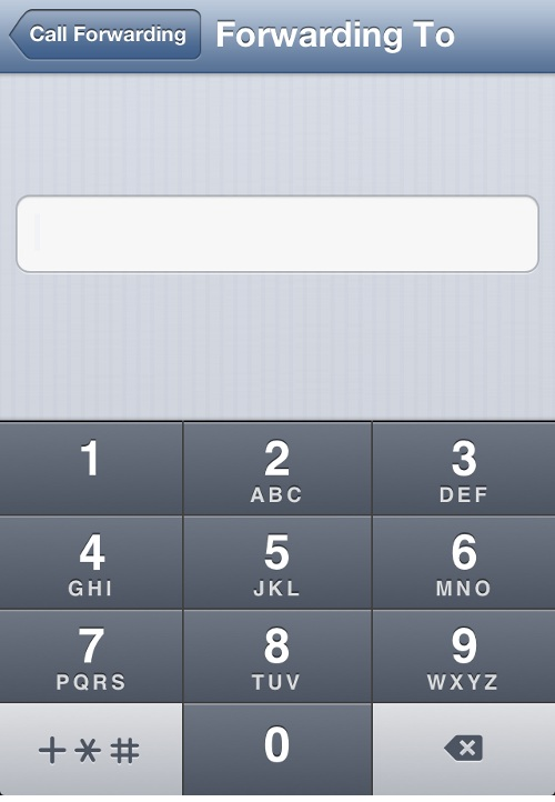 iPhone Add Call Forwarding Number