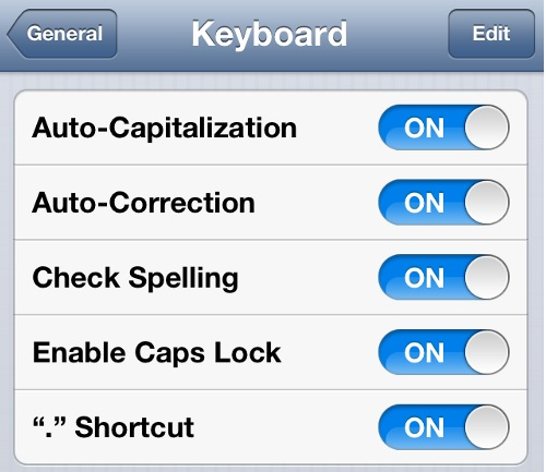 How to Disable AutoCorrect on iPhone Completely