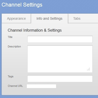 Create Custom YouTube Channel Address