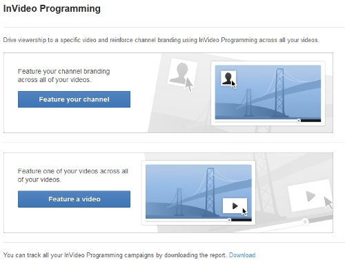 InVideo Programming YouTube