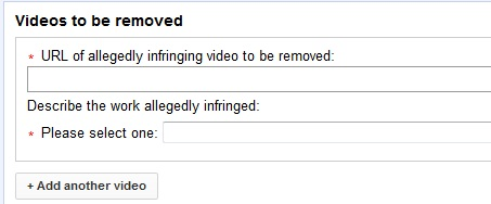 Report YouTube Copyright Infringement - Remove Videos