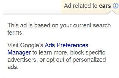 Block Google Advertisers