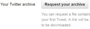 Download Twitter Archive - Download Tweets