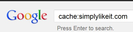 Open Google Cache Page