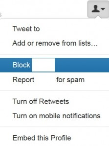 Block Twitter Direct Messages
