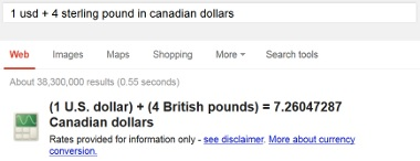 Convert Currencies Google Search